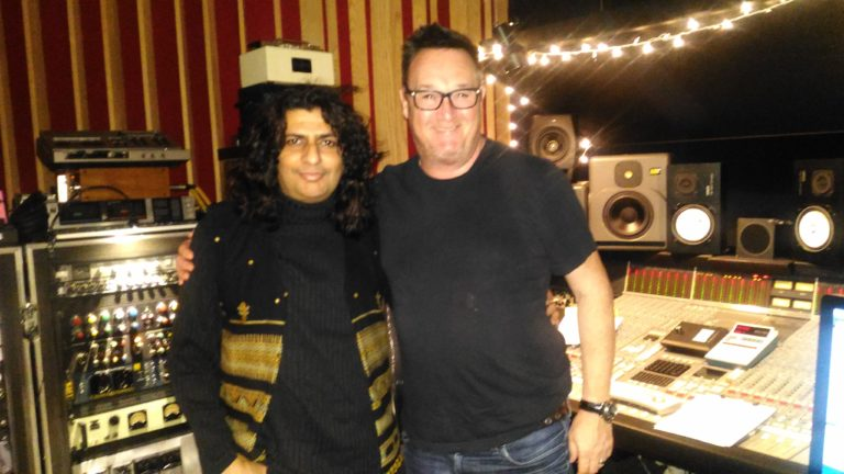 Somesh Mathur and Multiple Grammy Award winner Spike Stent