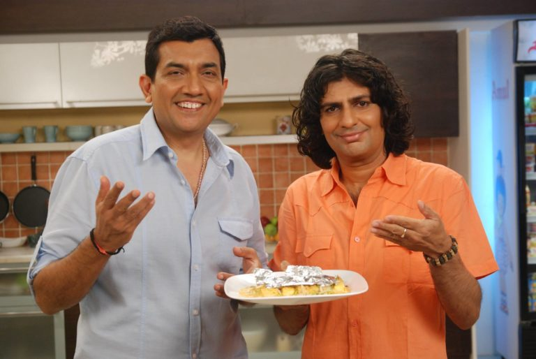 With Sanjeev Kapoor